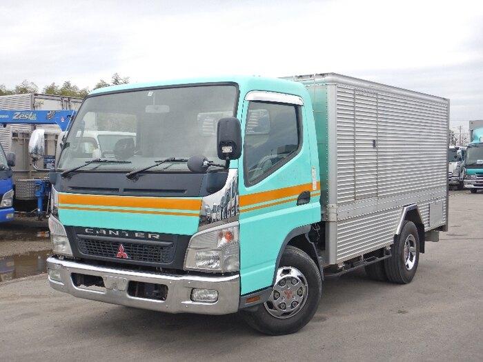 三菱 キャンター 小型 タンク車 バキューム PA-FE83DCY|トラック 左前画像 トラックバンク掲載
