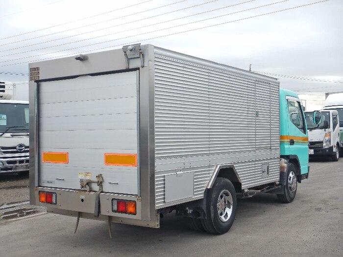 三菱 キャンター 小型 タンク車 バキューム PA-FE83DCY|トラック 右後画像 リトラス掲載