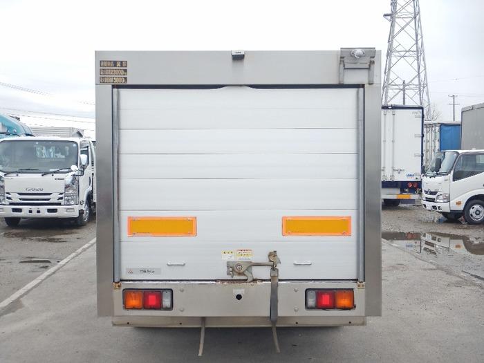 三菱 キャンター 小型 タンク車 バキューム PA-FE83DCY|トラック 背面・荷台画像 トラック市掲載