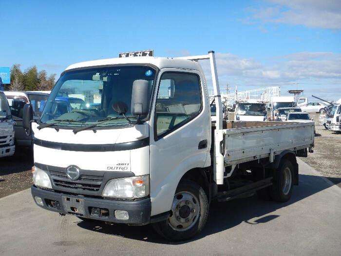 日野 デュトロ 小型 平ボディ BDG-XZU378M H20|トラック 左前画像 トラックバンク掲載