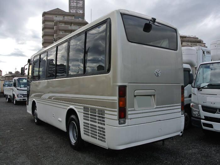 トヨタ コースター 小型 バス マイクロバス KK-RX4JFET|トラック 右後画像 リトラス掲載