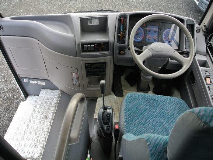 トヨタ コースター 小型 バス マイクロバス KK-RX4JFET|架装  トラック 画像 トラックバンク掲載