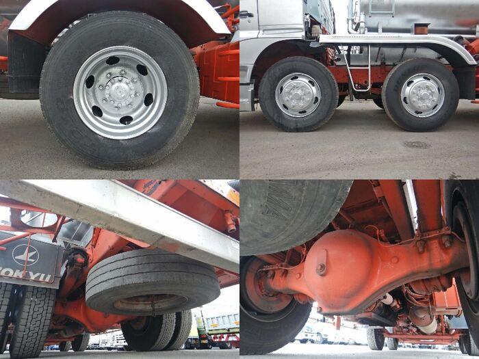 日野 プロフィア 大型 タンク車 バキューム KS-GN2PMJA|積載 9.7t トラック 画像 ステアリンク掲載