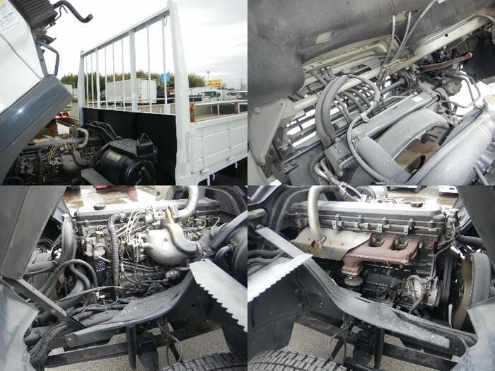 三菱 ファイター 中型 平ボディ KK-FK71HG H16|荷台 床の状態 トラック 画像 トラックサミット掲載