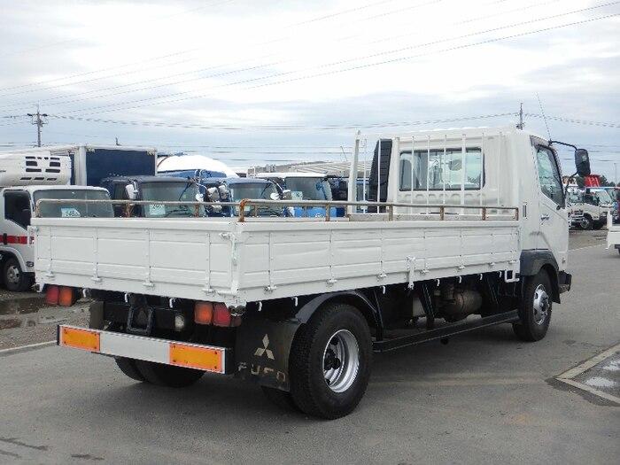 三菱 ファイター 中型 平ボディ KK-FK71HG H16|トラック 右後画像 リトラス掲載