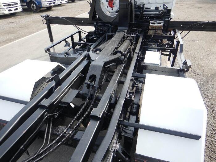 いすゞ フォワード 中型 アームロール クレーン付き ツインホイスト 画像7
