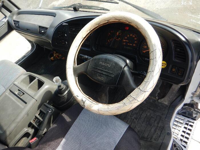 いすゞ フォワード 中型 アームロール クレーン付き ツインホイスト 画像5