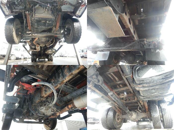 三菱 ファイター 中型 車輌重機運搬 6段クレーン ラジコン|型式 KK-FK61HL トラック 画像 栗山自動車掲載