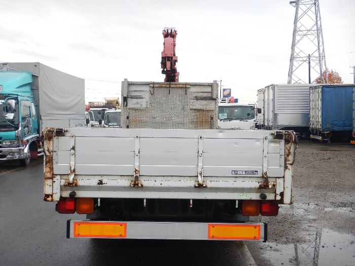 三菱 ファイター 中型 車輌重機運搬 6段クレーン ラジコン|駆動方式 2WD トラック 画像 リトラス掲載
