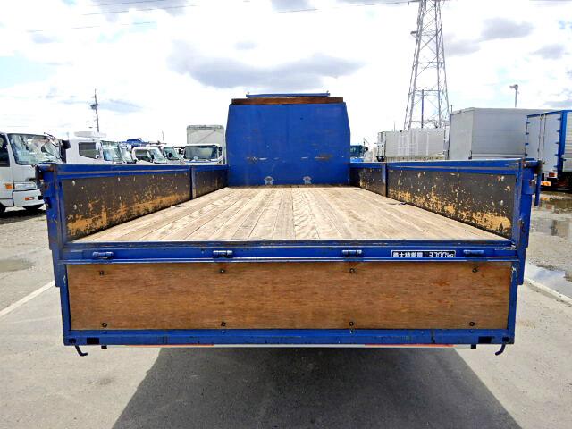 日野 レンジャー 中型 平ボディ 床鉄板 ベッド|トラック 背面・荷台画像 トラック市掲載