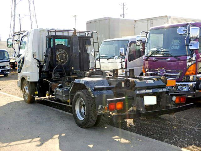 三菱 ファイター 中型 アームロール ツインホイスト ベッド|トラック 背面・荷台画像 トラック市掲載