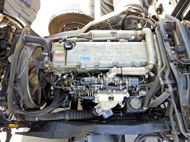 三菱 ファイター 中型 アームロール ツインホイスト ベッド|型式 PDG-FK61F トラック 画像 栗山自動車掲載