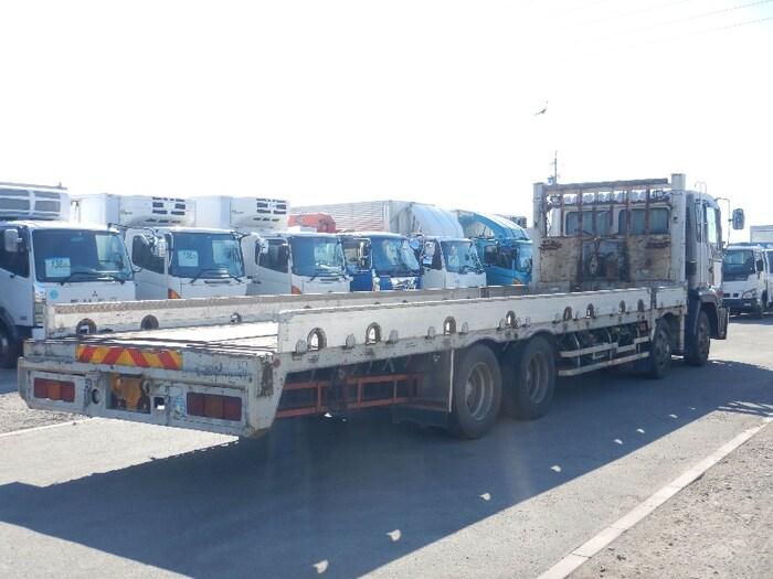 日野 プロフィア 大型 車輌重機運搬 ウインチ ベッド 画像2