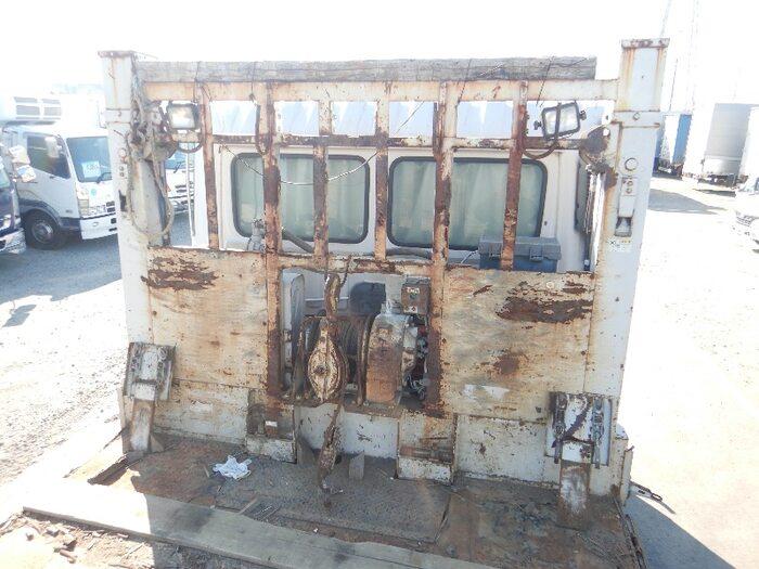 日野 プロフィア 大型 車輌重機運搬 ウインチ ベッド 画像5