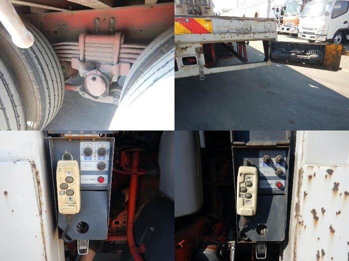 日野 プロフィア 大型 車輌重機運搬 ウインチ ベッド 画像12