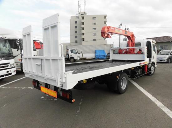 いすゞ エルフ 小型 車輌重機運搬 3段クレーン ラジコン|トラック 背面・荷台画像 トラック市掲載