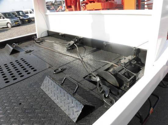いすゞ エルフ 小型 車輌重機運搬 3段クレーン ラジコン|リサイクル券 10,540円 トラック 画像 トラック市掲載