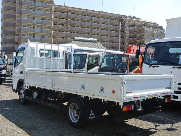 三菱 キャンター 小型 平ボディ 床鉄板 2PG-FEB50 トラック 右後画像 リトラス掲載