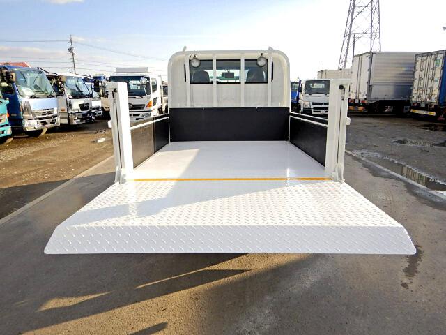 トヨタ トヨエース 小型 平ボディ Wキャブ パワーゲート トラック 背面・荷台画像 トラック市掲載