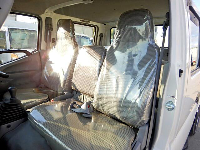 トヨタ トヨエース 小型 平ボディ Wキャブ パワーゲート 型式 TKG-XZU605 トラック 画像 栗山自動車掲載