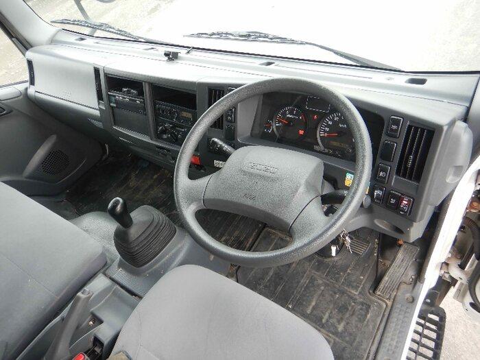 いすゞ エルフ 小型 アルミバン パワーゲート サイドドア|車検  トラック 画像 キントラ掲載