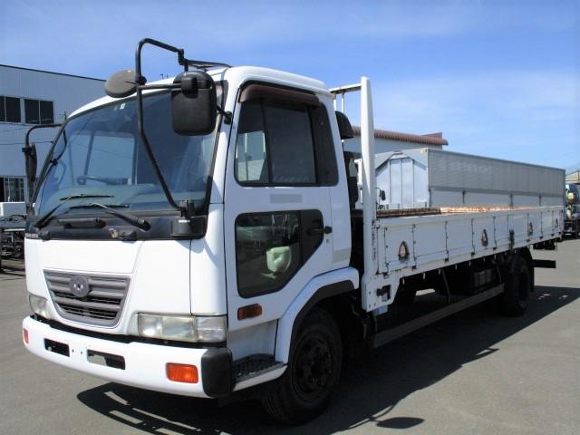 日産UD コンドル 中型 平ボディ KK-MK21A H15|トラック 左前画像 トラックバンク掲載