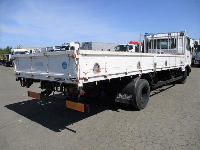 日産UD コンドル 中型 平ボディ KK-MK21A H15|トラック 右後画像 リトラス掲載