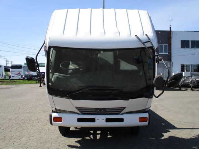 日産UD コンドル 中型 平ボディ KK-MK21A H15|フロントガラス トラック 画像 トラック王国掲載