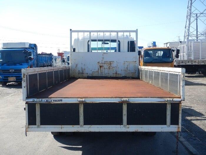 いすゞ フォワード 中型 平ボディ 床鉄板 PKG-FRR90S2|シフト AT トラック 画像 ステアリンク掲載
