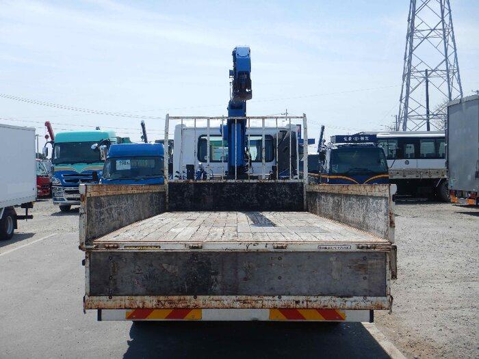 日産UD コンドル 中型 クレーン付 4段 フックイン 走行距離 13.4万km トラック 画像 トラックランド掲載