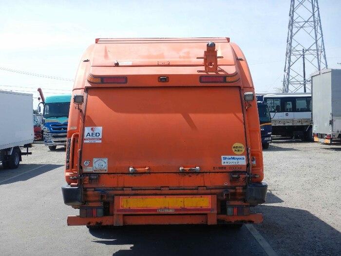 日産UD コンドル 中型 パッカー車 プレス式 BDG-PK36C|トラック 背面・荷台画像 トラック市掲載