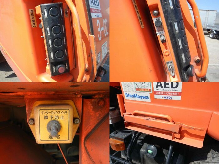 日産UD コンドル 中型 パッカー車 プレス式 BDG-PK36C|荷台 床の状態 トラック 画像 トラックサミット掲載