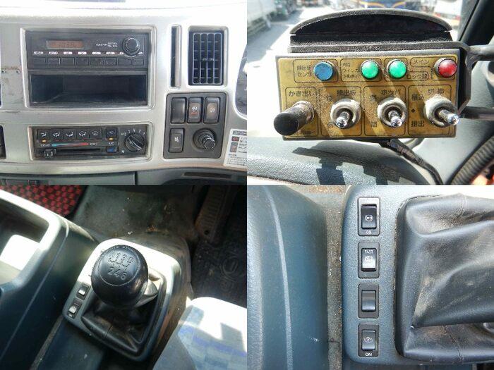 日産UD コンドル 中型 パッカー車 プレス式 BDG-PK36C|フロントガラス トラック 画像 トラック王国掲載