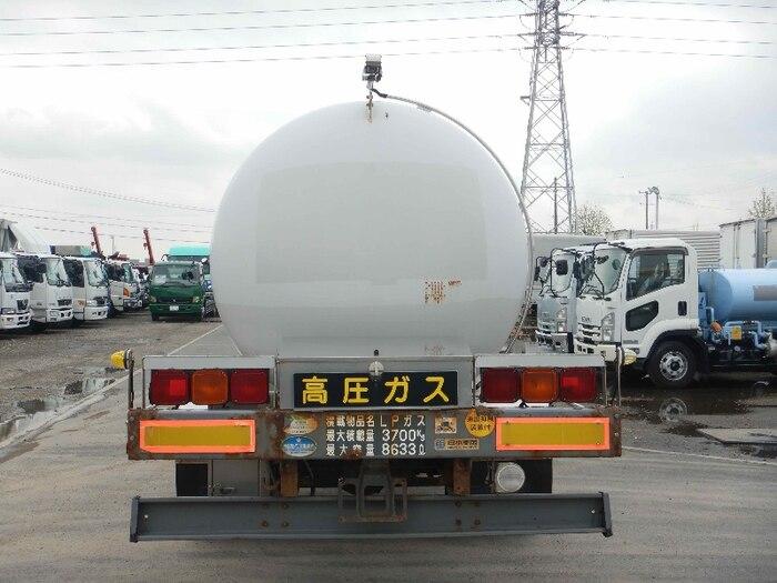 日野 レンジャー 中型 タンク車 ローリー BDG-GX7JKWA トラック 背面・荷台画像 トラック市掲載
