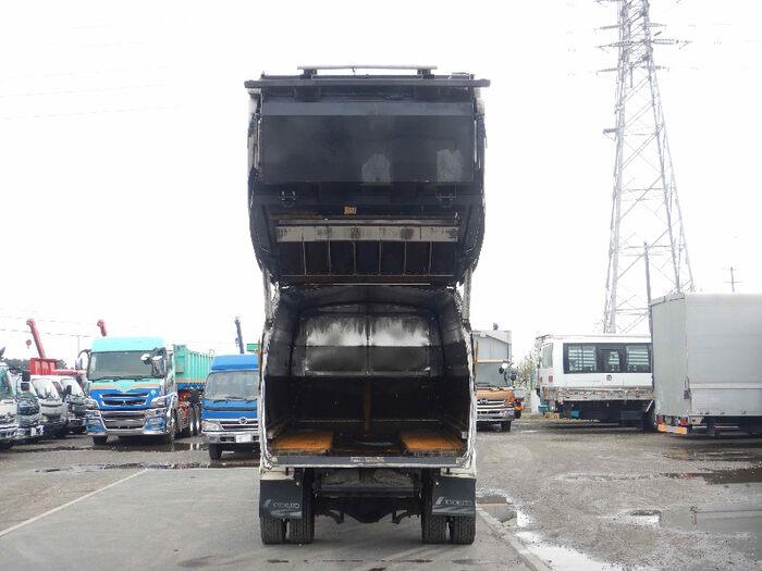 日野 レンジャー 中型 パッカー車 プレス式 BKG-GC7JLYA|駆動方式 2WD トラック 画像 リトラス掲載
