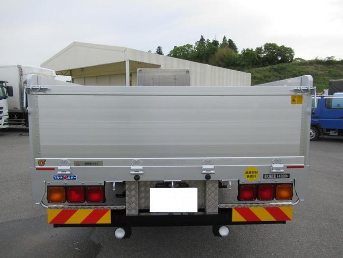 三菱 スーパーグレート 大型 平ボディ ハイルーフ アルミブロック|画像3