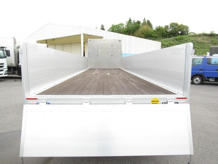 三菱 スーパーグレート 大型 平ボディ ハイルーフ アルミブロック|画像4