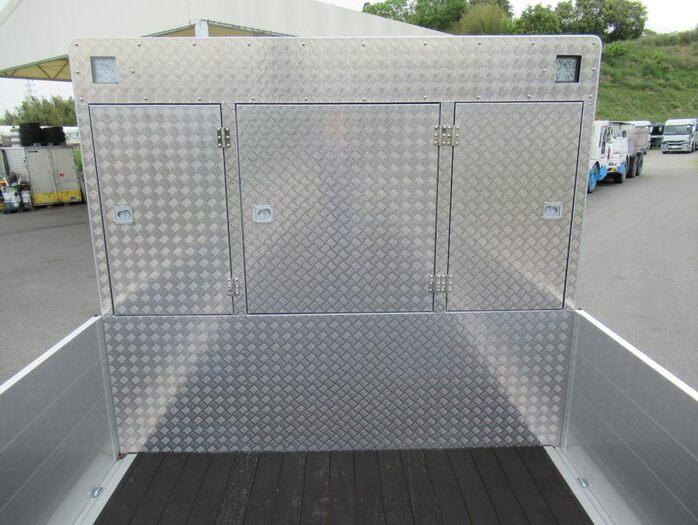 三菱 スーパーグレート 大型 平ボディ ハイルーフ アルミブロック|画像6