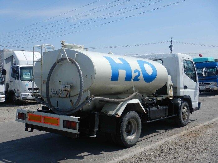 中古 タンク車小型(2トン・3トン) 三菱キャンター トラック H18 PA-FE83DCY
