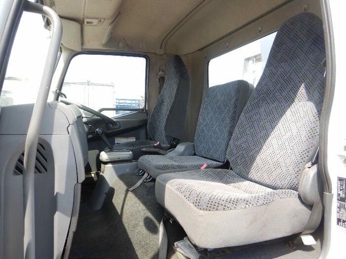 三菱 ファイター 中型 クレーン付 床鉄板 3段|車検  トラック 画像 キントラ掲載