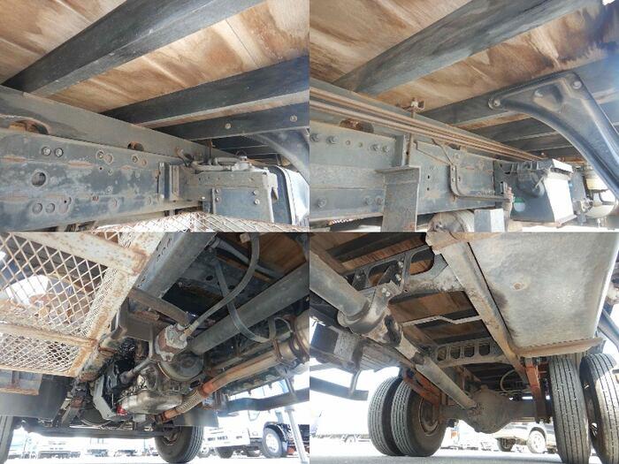 三菱 ファイター 中型 クレーン付 床鉄板 3段|年式 H18 トラック 画像 トラックサミット掲載