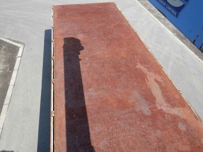 三菱 ファイター 中型 クレーン付 床鉄板 3段|走行距離 4.6万km トラック 画像 トラックランド掲載