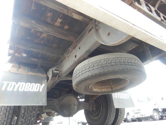 日産UD コンドル 中型 クレーン付 床鉄板 アルミブロック|フロントガラス トラック 画像 トラック王国掲載