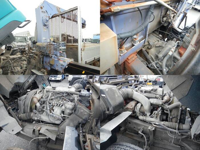 日産UD コンドル 中型 クレーン付 床鉄板 アルミブロック|シフト MT6 トラック 画像 ステアリンク掲載