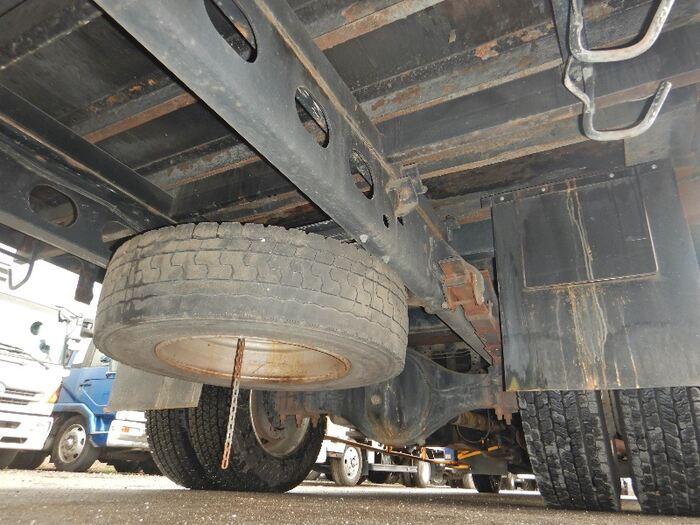 いすゞ フォワード 中型 クレーン付 アルミブロック 3段 エンジン トラック 画像 トラスキー掲載