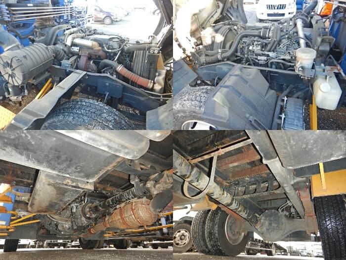 いすゞ フォワード 中型 クレーン付 アルミブロック 3段 車検  トラック 画像 キントラ掲載