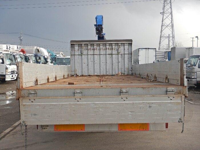 いすゞ フォワード 中型 クレーン付 アルミブロック 3段 積載 5.2t トラック 画像 ステアリンク掲載