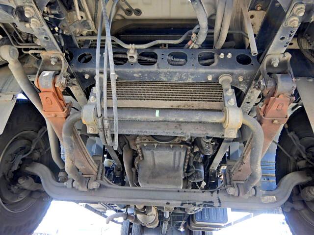 いすゞ フォワード 中型 クレーン付 床鉄板 アルミブロック 画像7