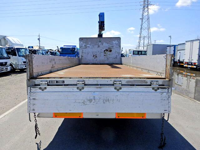 いすゞ フォワード 中型 クレーン付 床鉄板 アルミブロック 画像3