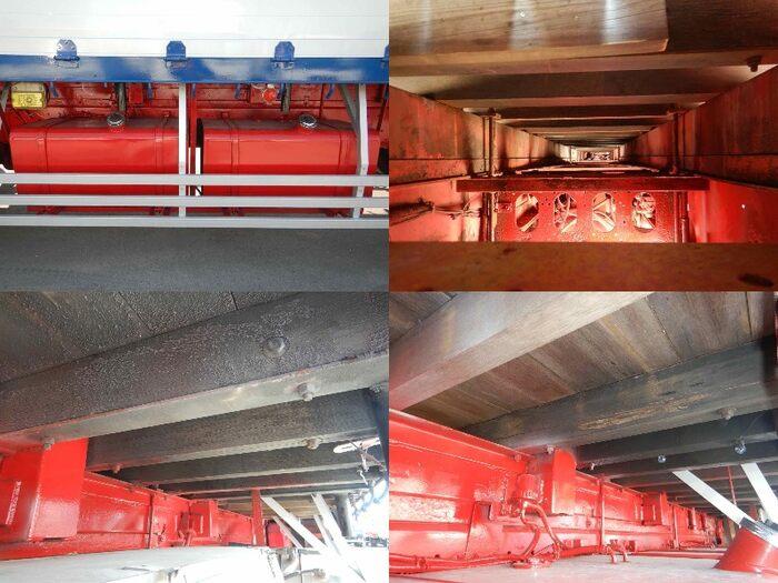 いすゞ ギガ 大型 平ボディ アルミブロック ベッド|駆動方式 6x4 トラック 画像 リトラス掲載